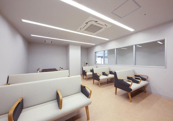 透析患者様の待合室